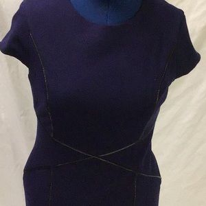 Cynthia Steffe navy dress 12
